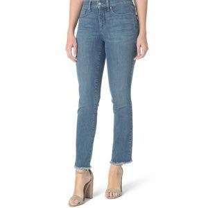 NYDJ   Blue Sheri Slim Ankle Maxwell Jeans